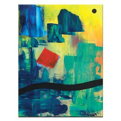 Artist Lane 'Meridian ' by Mario Burgoa Art Print Wrapped on Canvas
