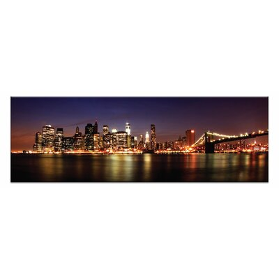 Artist Lane 'Manhattan Panoramic' by Andrew Paranavitana Photographic Print on Wrapped Canvas