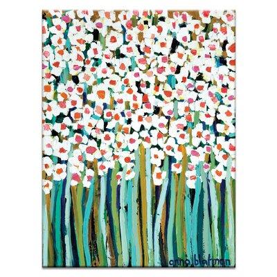 Artist Lane 'Lucas Field' by Anna Blatman Art Print on Wrapped Canvas