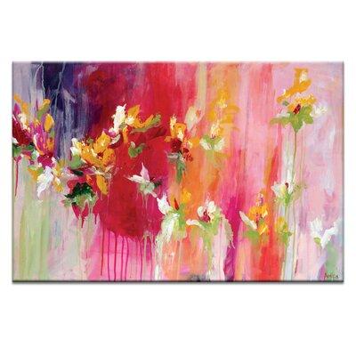 Artist Lane 'April Blooms' by Amira Rahim Art Print on Wrapped Canvas