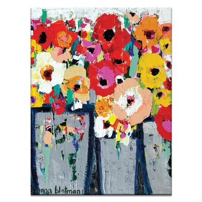 Artist Lane 'Market Day' by Anna Blatman Art Print on Wrapped Canvas