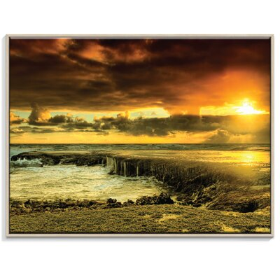 Artist Lane 'Positive Reinforcement' by Andrew Paranavitana Photographic Print Wrapped on Canvas