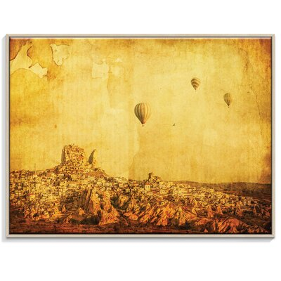 Artist Lane 'Cappadocia' by Andrew Paranavitana Framed Photographic Print on Wrapped Canvas