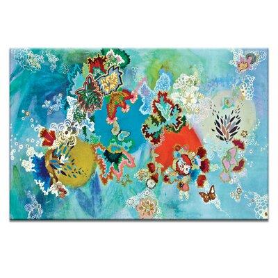 Artist Lane 'Dios A Las Orugas Copia' by Lia Porto Art Print on Wrapped Canvas