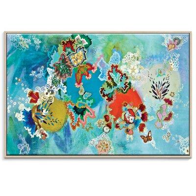 Artist Lane 'Dios A Las Orugas Copia' by Lia Porto Art Print Wrapped on Canvas
