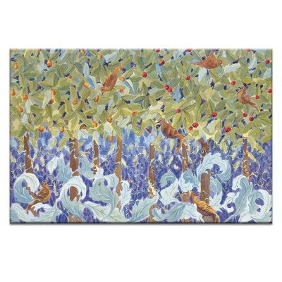 Artist Lane 'The Orchard Visitors' by Catherine Fitzgerald Art Print on Wrapped Canvas