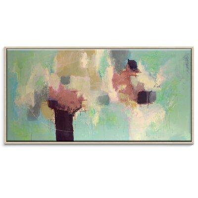Artist Lane 'Sunday Morning' by Julie Ahmad Framed Art Print on Wrapped Canvas