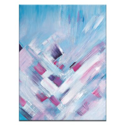 Artist Lane 'Pretty in Pink' by Brenda Meynell Art Print on Wrapped Canvas