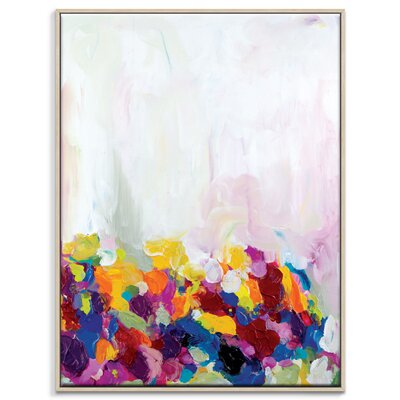 Artist Lane 'Buttercup' by Amira Rahim Art Print Wrapped on Canvas