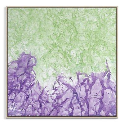 Artist Lane 'Ink Flow 2' by Chalie MacRae Framed Art Print on Wrapped Canvas