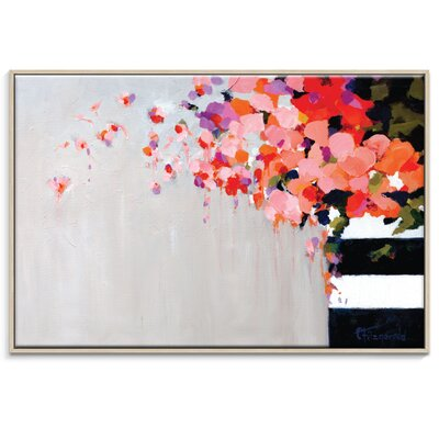 Artist Lane 'Romance' by Catherine Fitzgerald Framed Art Print on Wrapped Canvas