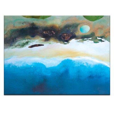 Artist Lane 'Coast #1' by Katherine Boland Art Print Wrapped on Canvas