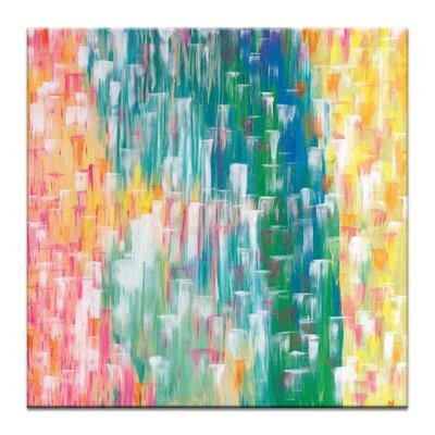 Artist Lane 'Tropic Falls' by Josie Nobile Art Print on Wrapped Canvas