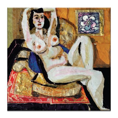 Artist Lane 'Odalisque 4' by Shani Alexander Art Print on Wrapped Canvas