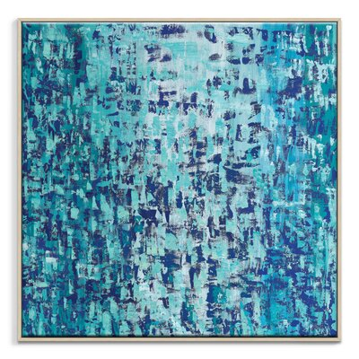 Artist Lane 'Cool Change' by Josie Nobile Framed Art Print on Wrapped Canvas