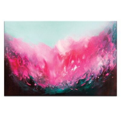 Artist Lane 'Fleur' by Georgina Vinsun Art Print on Wrapped Canvas