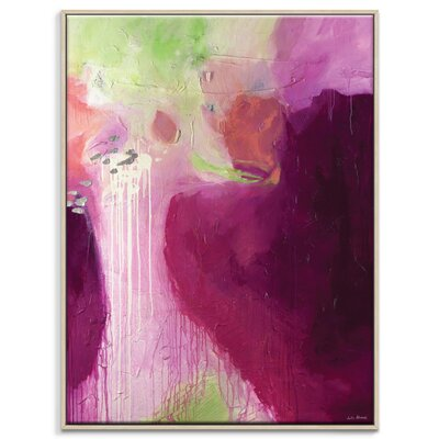 Artist Lane 'Blush' by Julia Ahmad Framed Art Print on Wrapped Canvas