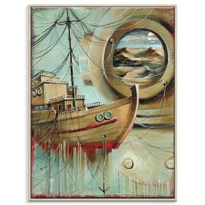 Artist Lane 'Voyage De Rêves' by Olena Kosenko Framed Graphic Art on Wrapped Canvas