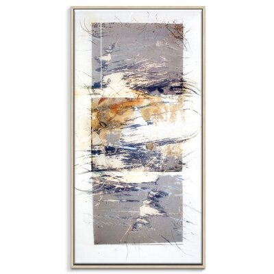 Artist Lane 'Paper Screen 5' by Gill Cohn Art Print Wrapped on Canvas