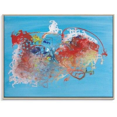 Artist Lane 'Heartbeat' by Brenda Meynell Framed Art Print on Wrapped Canvas