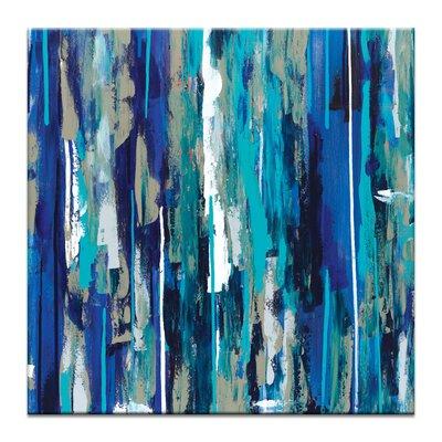 Artist Lane 'Bluehue' by Sabina Klein Art Print on Wrapped Canvas
