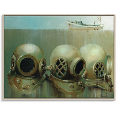Artist Lane 'What Lays Beneath-2' by Olena Kosenko Framed Graphic Art on Wrapped Canvas