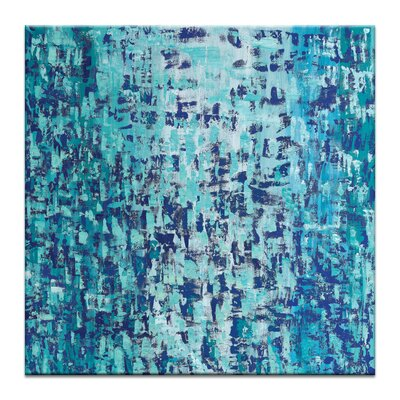 Artist Lane 'Cool Change' by Josie Nobile Art Print on Wrapped Canvas