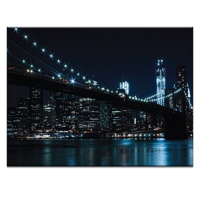 Artist Lane 'Brooklyn Nights' by Andrew Paranavitana Photographic Print on Wrapped Canvas