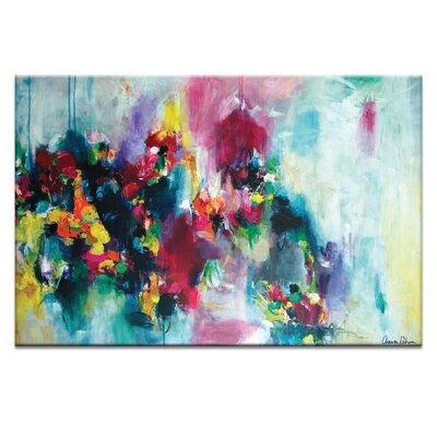 Artist Lane 'Fae Flowers' by Amira Rahim Art Print on Wrapped Canvas