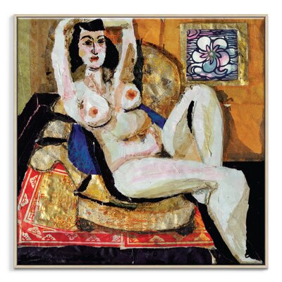 Artist Lane 'Odalisque 4' by Shani Alexander Art Print Wrapped on Canvas