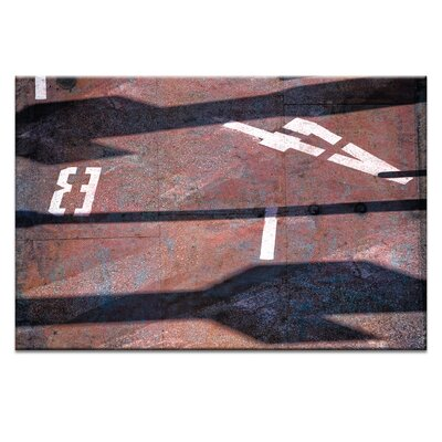 Artist Lane 'B4' by Bente Andermahr Photographic Print on Wrapped Canvas