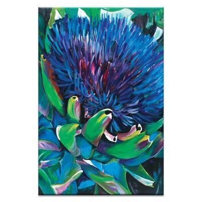 Artist Lane 'Artichoke' by Shani Alexander Art Print Wrapped on Canvas