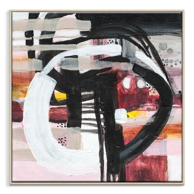 Artist Lane '40215' by Amanda Morie Framed Art Print on Wrapped Canvas