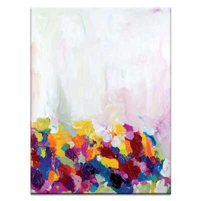 Artist Lane 'Buttercup' by Amira Rahim Art Print on Wrapped Canvas