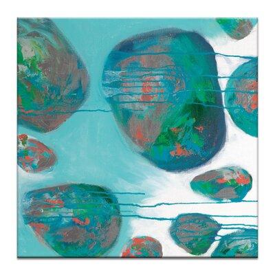 Artist Lane 'Back Beach 1' by Sherren Comensoli Art Print on Wrapped Canvas