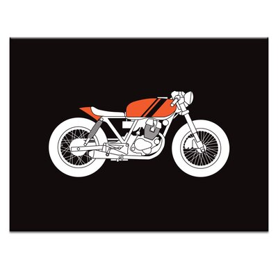 Artist Lane 'Cafe Racer 2' by Ayarti Graphic Art on Wrapped Canvas