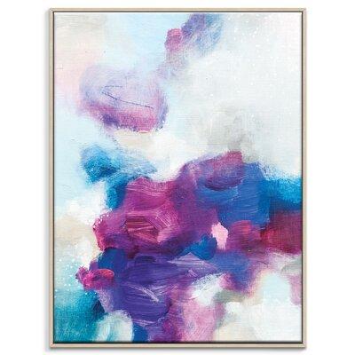 Artist Lane '20415' by Amanda Morie Framed Art Print on Wrapped Canvas