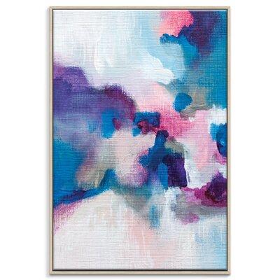 Artist Lane '20815' by Amanda Morie Framed Art Print on Wrapped Canvas