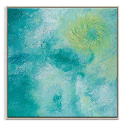 Artist Lane 'Ocean Spin' by Josie Nobile Framed Art Print on Wrapped Canvas