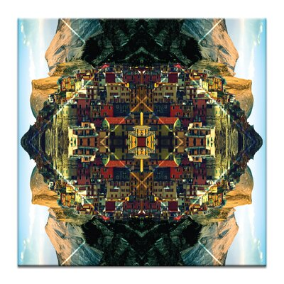 Artist Lane 'Cubism Dream' by Ayarti Graphic Art on Wrapped Canvas