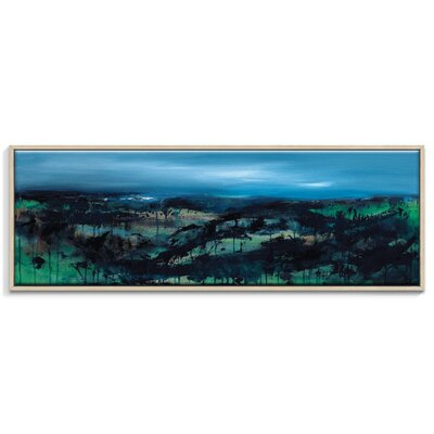 Artist Lane 'Bayview' by Lydia Ben-Natan Framed Art Print on Wrapped Canvas