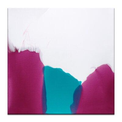 Artist Lane 'Flow 6' by Chalie MacRae Art Print Wrapped on Canvas