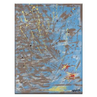 Artist Lane 'The Constant Companion' by Lou Sheldon Art Print Wrapped on Canvas