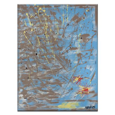 Artist Lane 'The Constant Companion' by Lou Sheldon Art Print on Wrapped Canvas