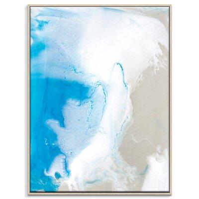 Artist Lane 'Flow 13' by Chalie MacRae Framed Art Print on Wrapped Canvas