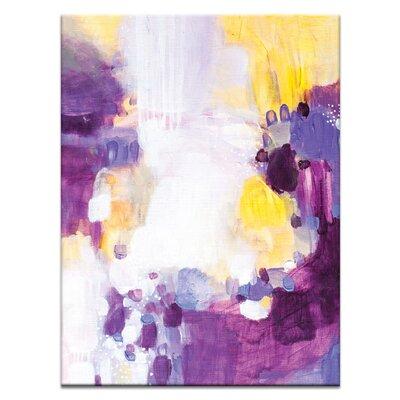 Artist Lane '31415' by Amanda Morie Art Print on Wrapped Canvas
