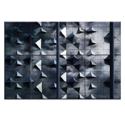 Artist Lane 'Cloudy Fragments' by Bente Andermahr Graphic Art Wrapped on Canvas