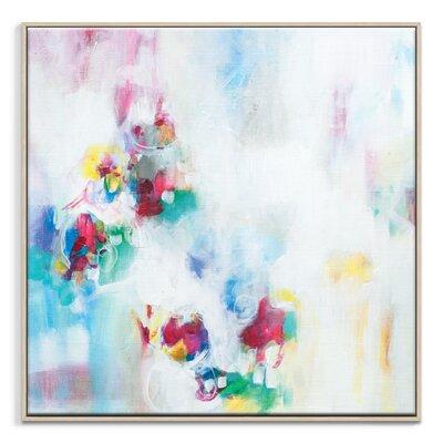 Artist Lane '32815' by Amanda Morie Framed Art Print on Wrapped Canvas