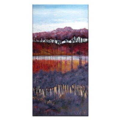 Artist Lane 'Blackberry Creek' by Lydia Ben-Natan Art Print Wrapped on Canvas