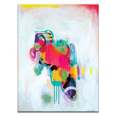 Artist Lane 'Wabi Sabi Love' by Amira Rahim Art Print on Wrapped Canvas